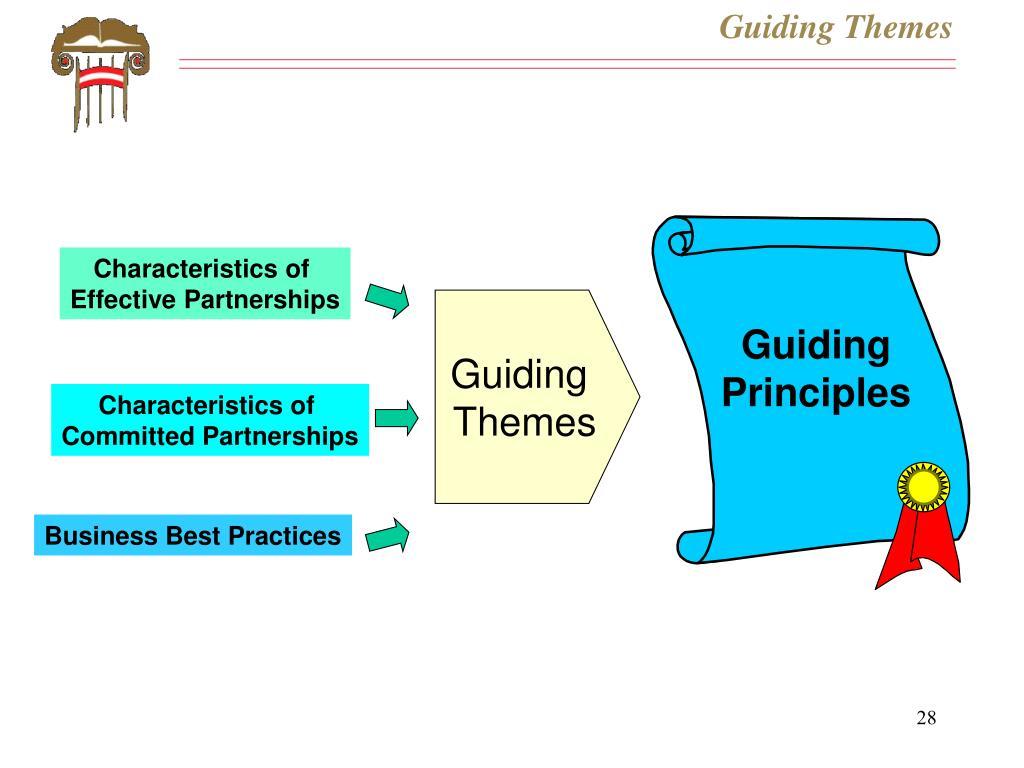 Guiding Themes