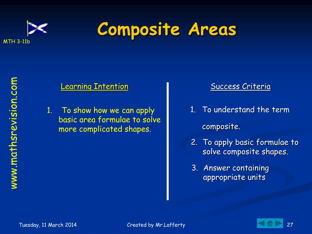 Composite Areas