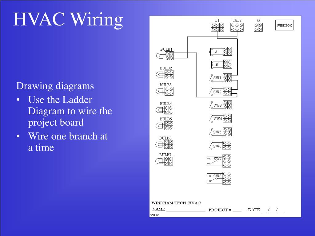 Dorable Hvac Ladder Wiring Diagram Pictures - Wiring Diagram Ideas ...