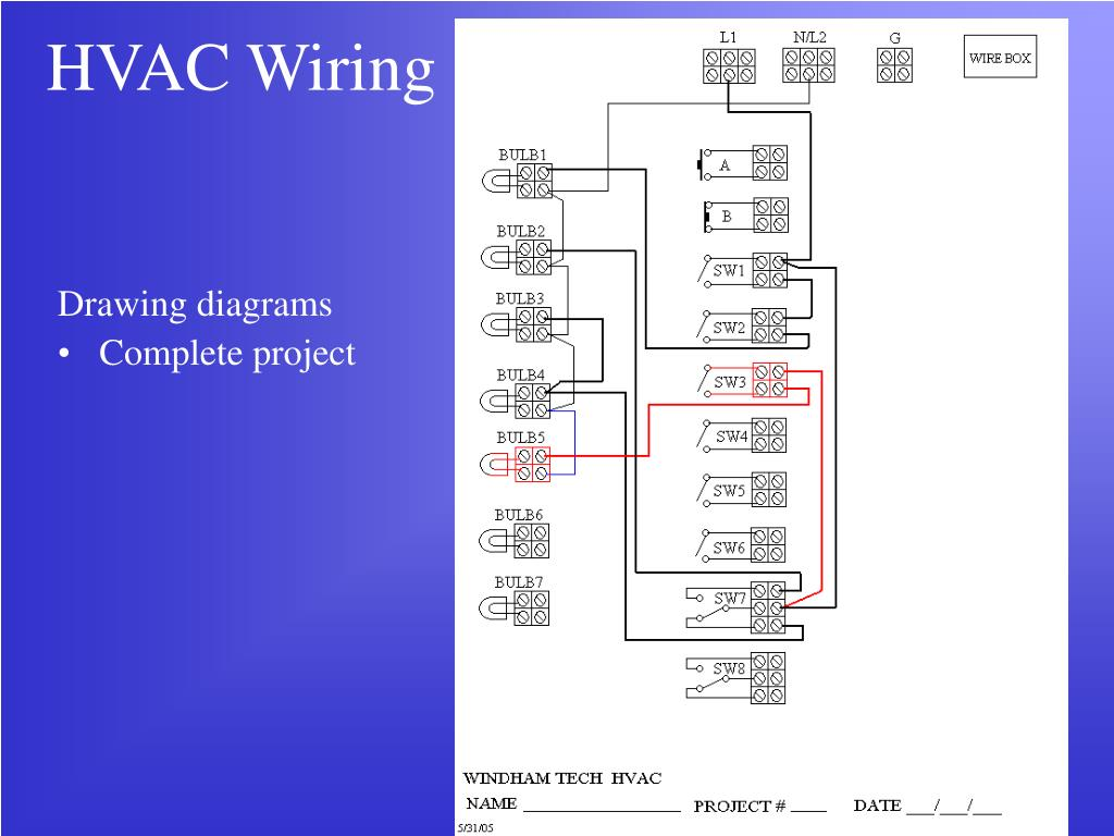 ppt hvac wiring powerpoint presentation id 255717