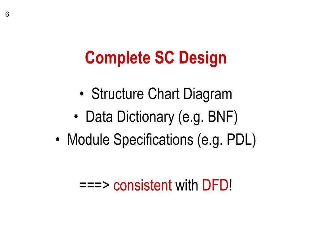 Complete SC Design