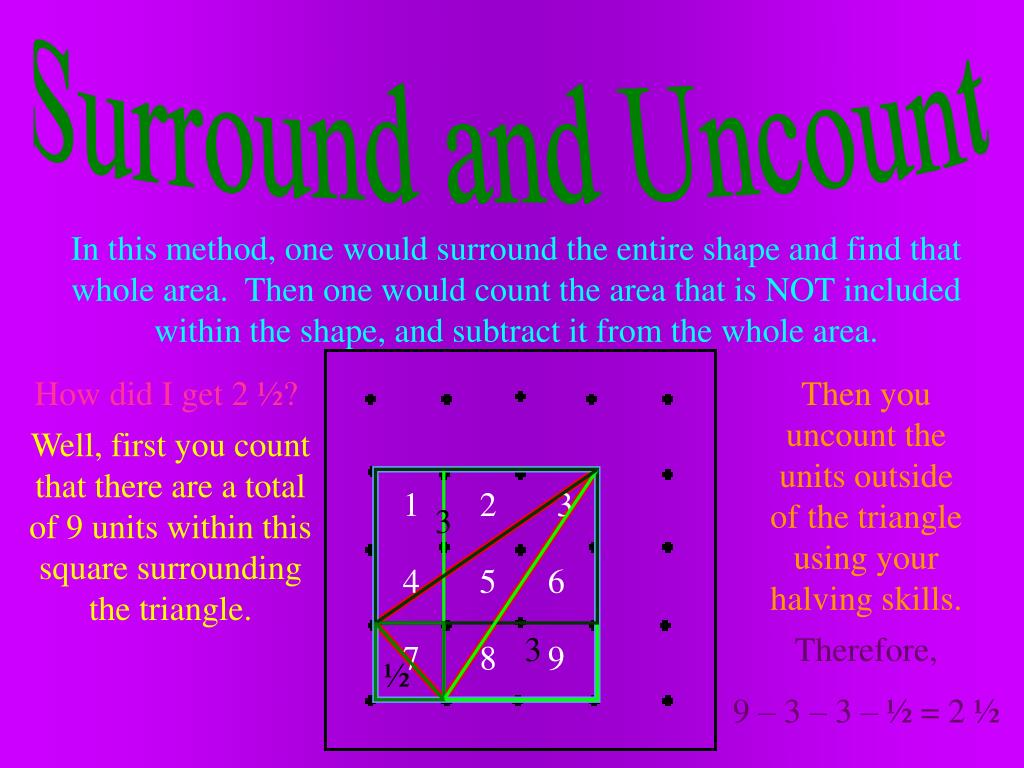 Surround and Uncount