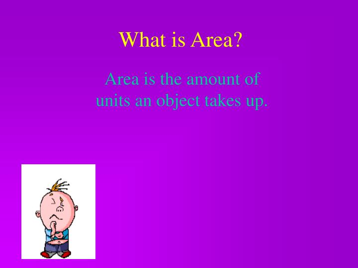 What is Area?