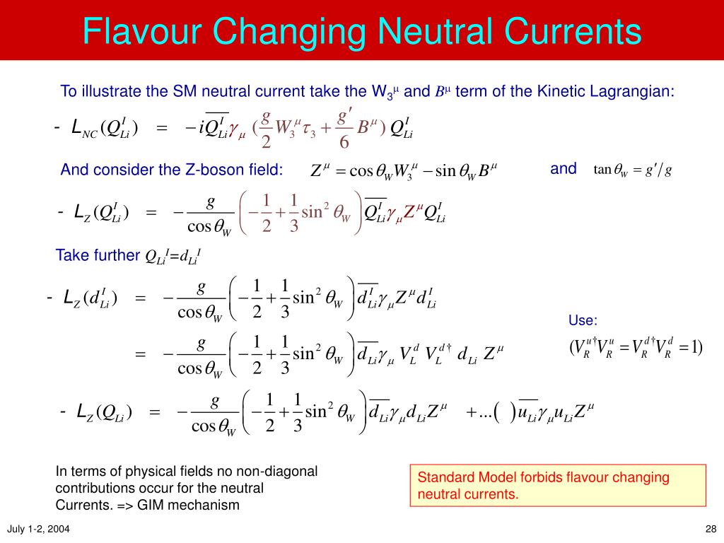 Flavour Changing Neutral Currents
