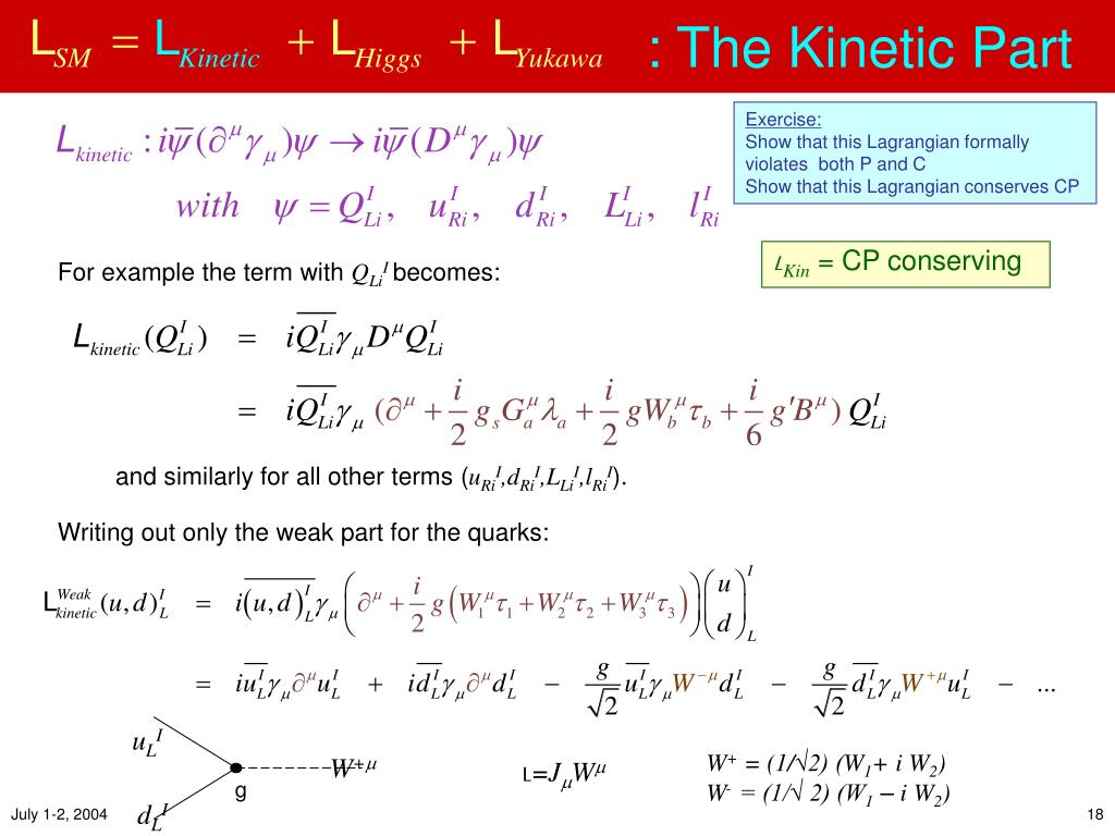 : The Kinetic Part