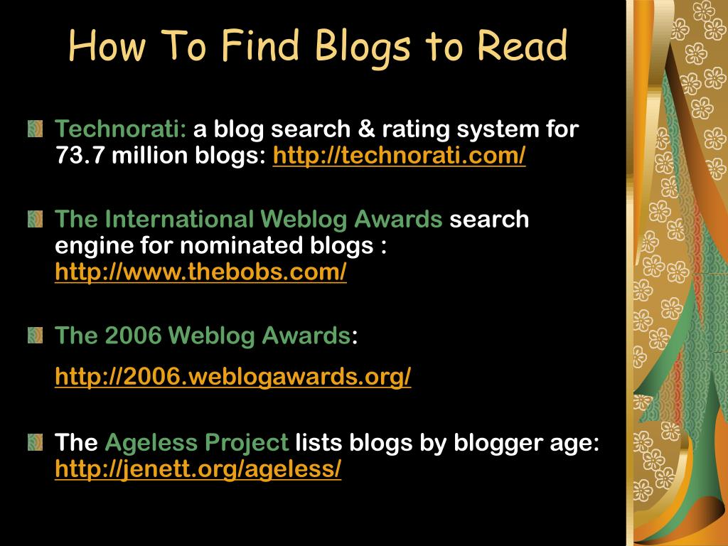 How To Find Blogs to Read