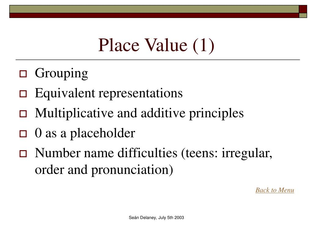 Place Value (1)