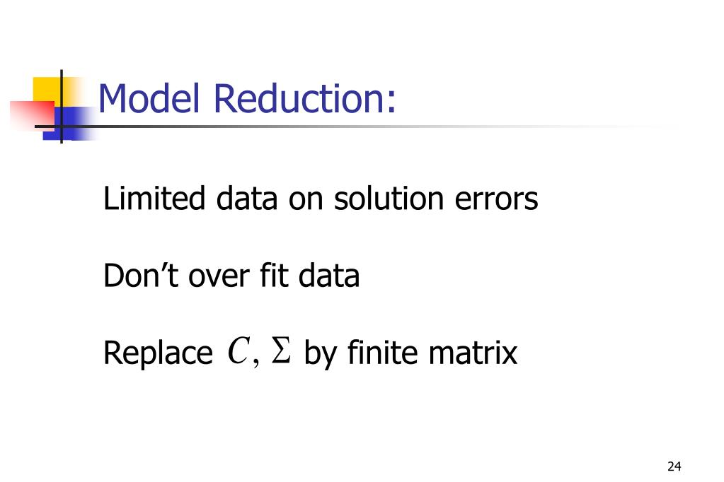 Model Reduction:
