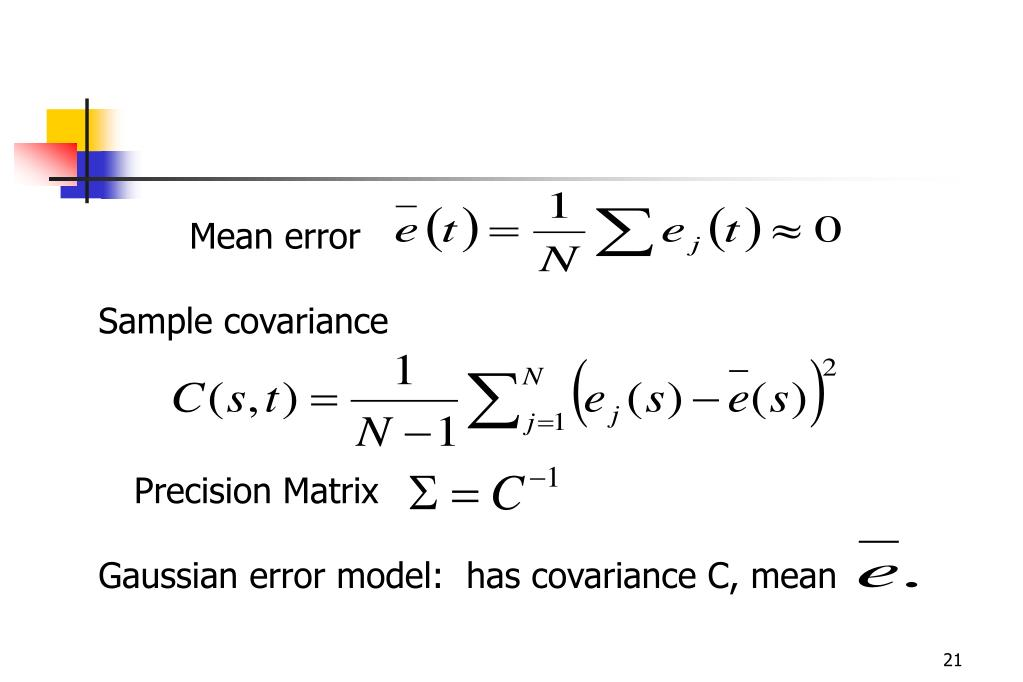 Mean error