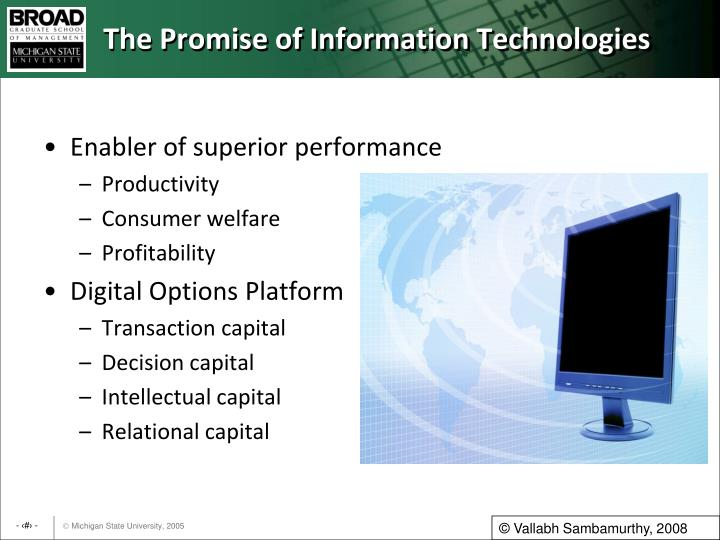 The promise of information technologies l.jpg