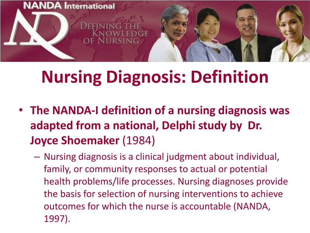 the second stage of nursing process for nanda approved nursing