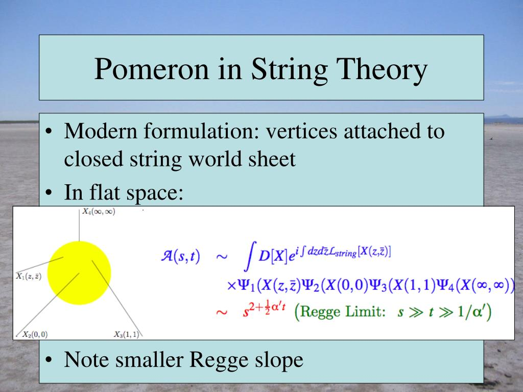 Pomeron in String Theory