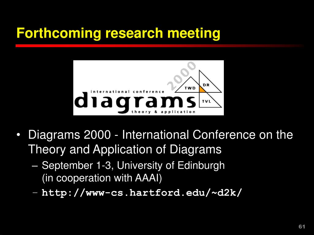 Forthcoming research meeting