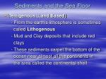 sediments and the sea floor2