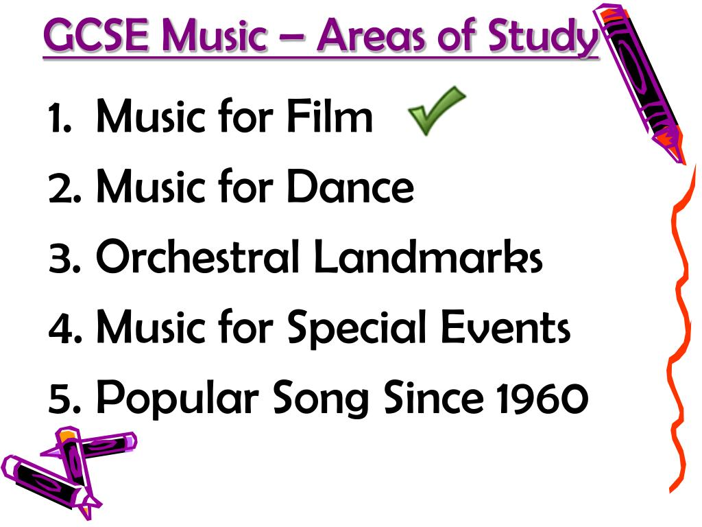 GCSE Music – Areas of Study