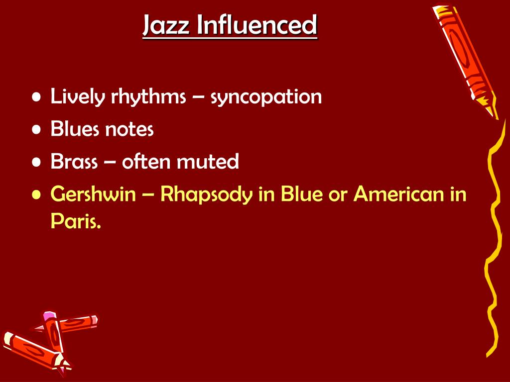 Jazz Influenced