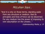 mcluhan says16