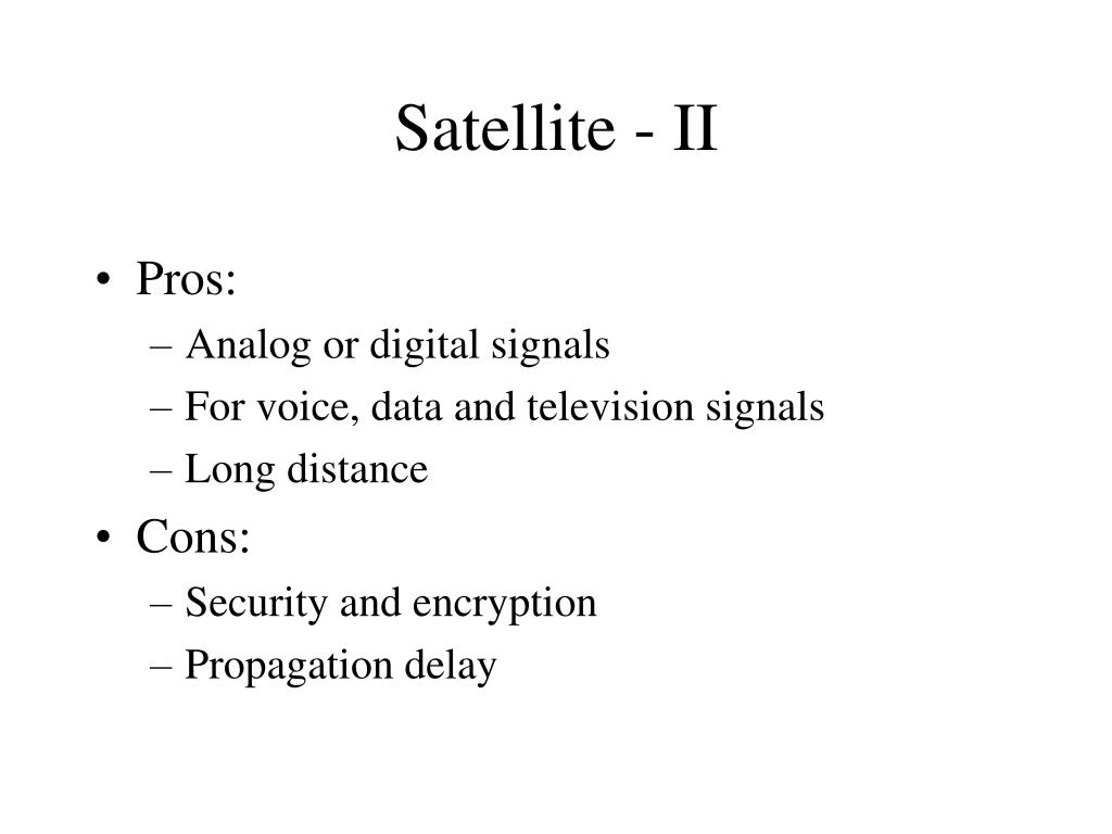 Satellite - II