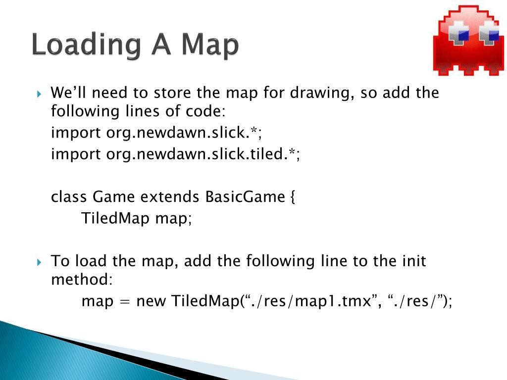 Loading A Map