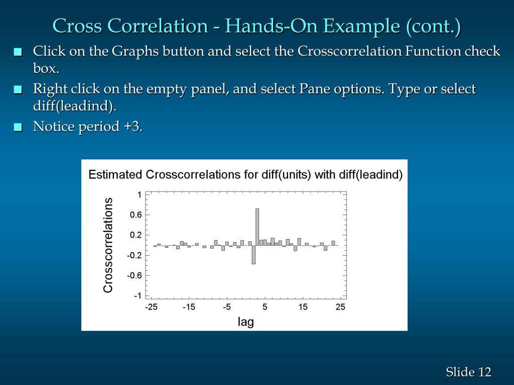 Cross Correlation - Hands-On Example (cont.)