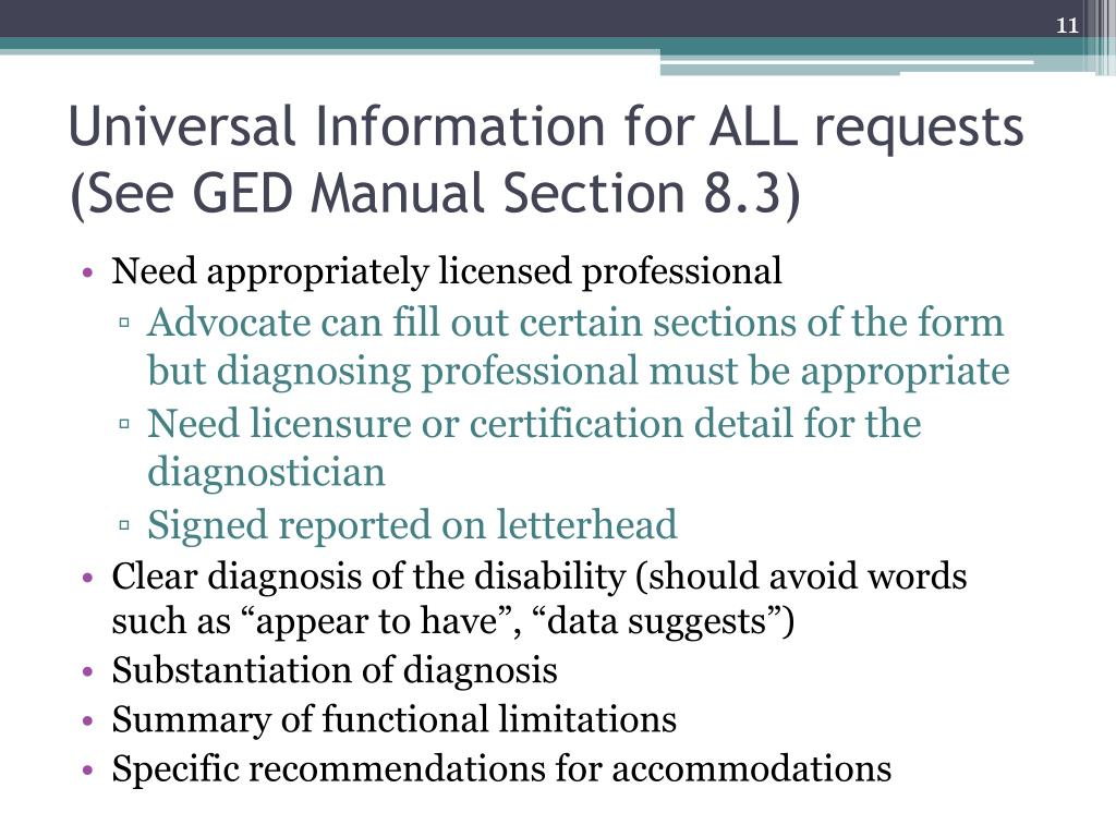 Universal Information for ALL requests