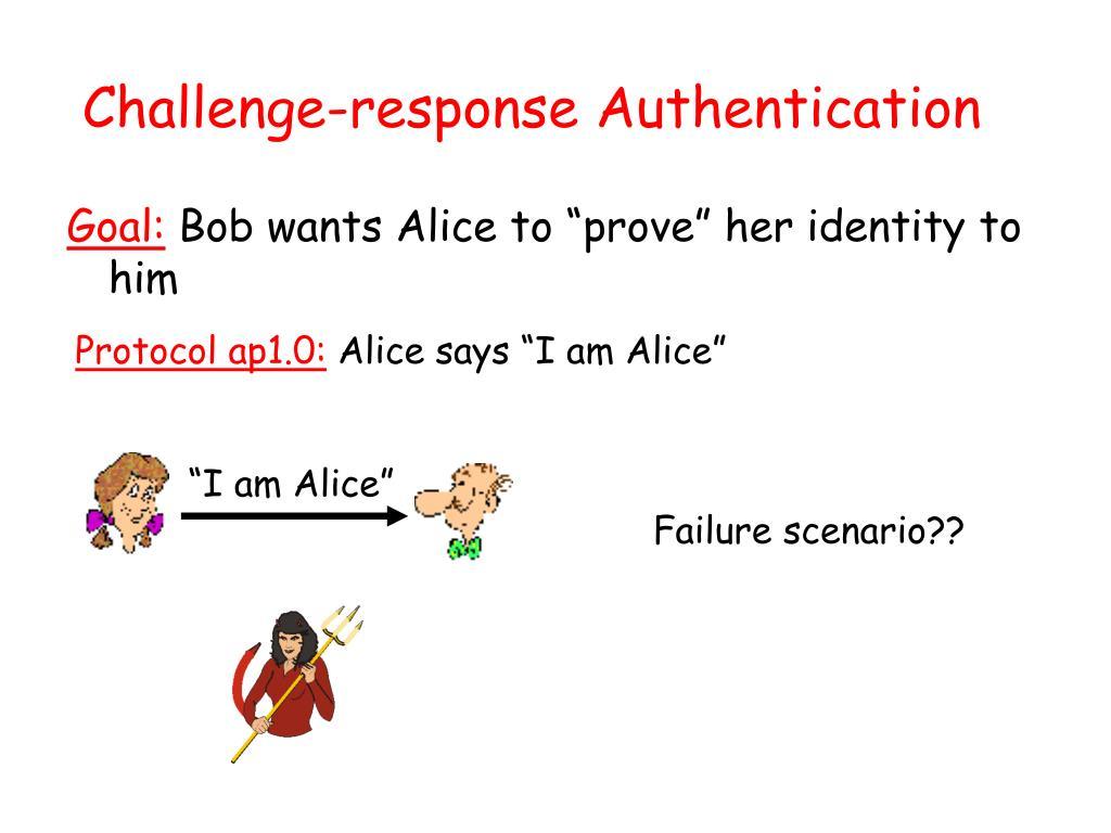 Challenge-response Authentication
