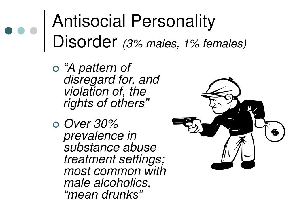 antisocial personality disorder an overview essay What is the distinction between anti-social personality disorder and of criminal and antisocial behaviours whilst the overview of findings.