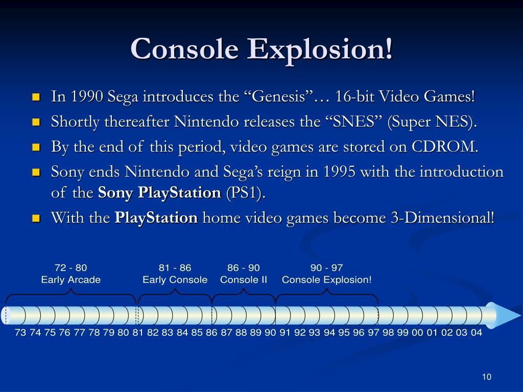 Console Explosion!