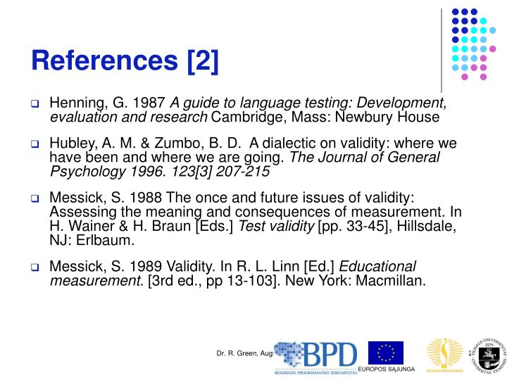 References [2]