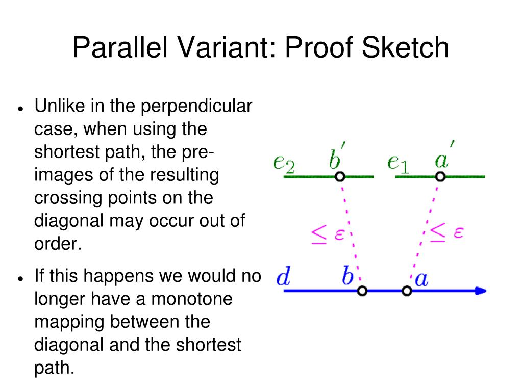 Parallel Variant: Proof Sketch