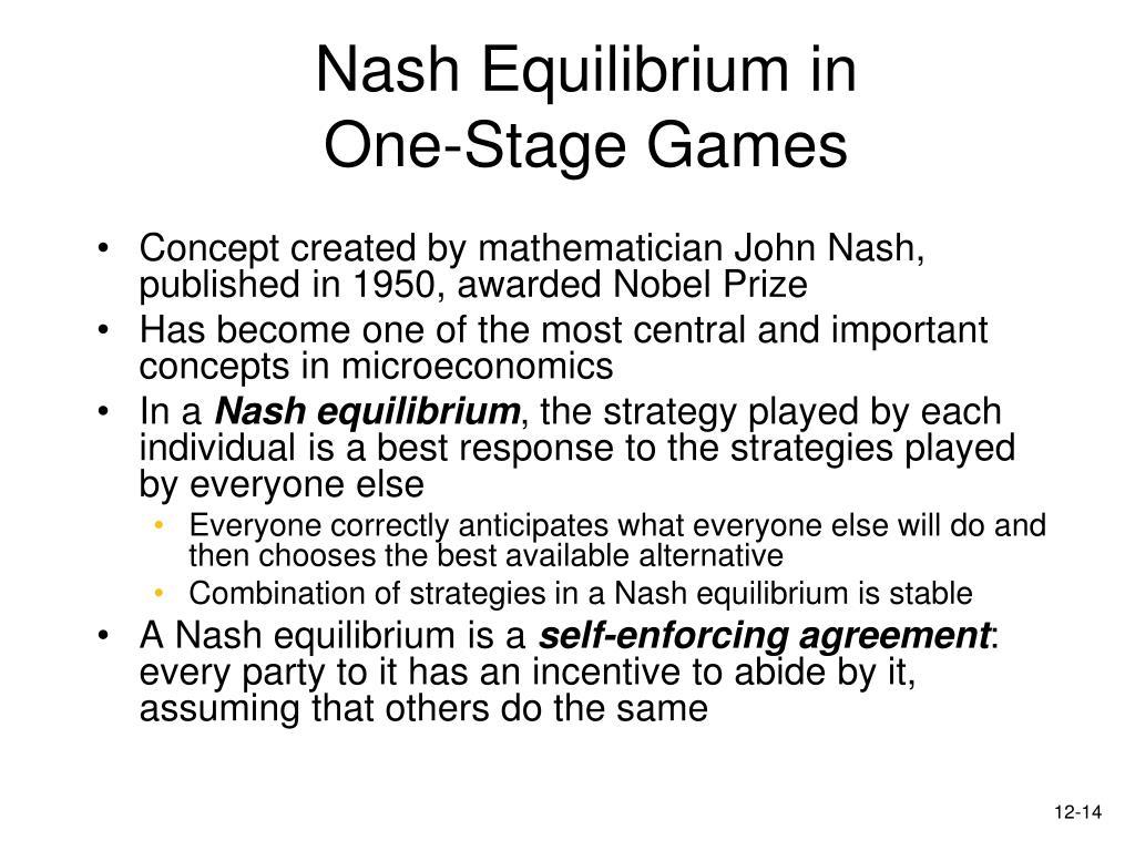Nash Equilibrium in