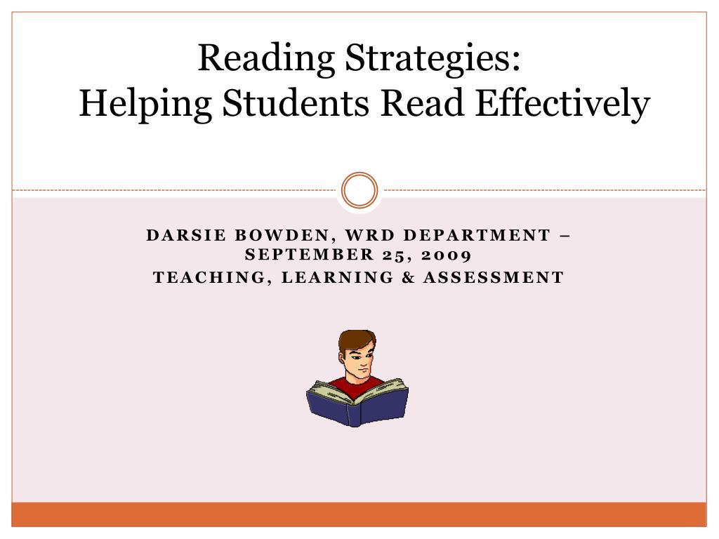 Reading Strategies: