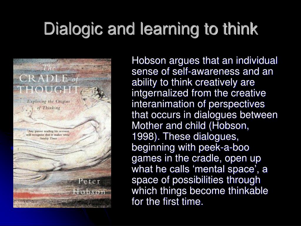 Dialogic and learning to think