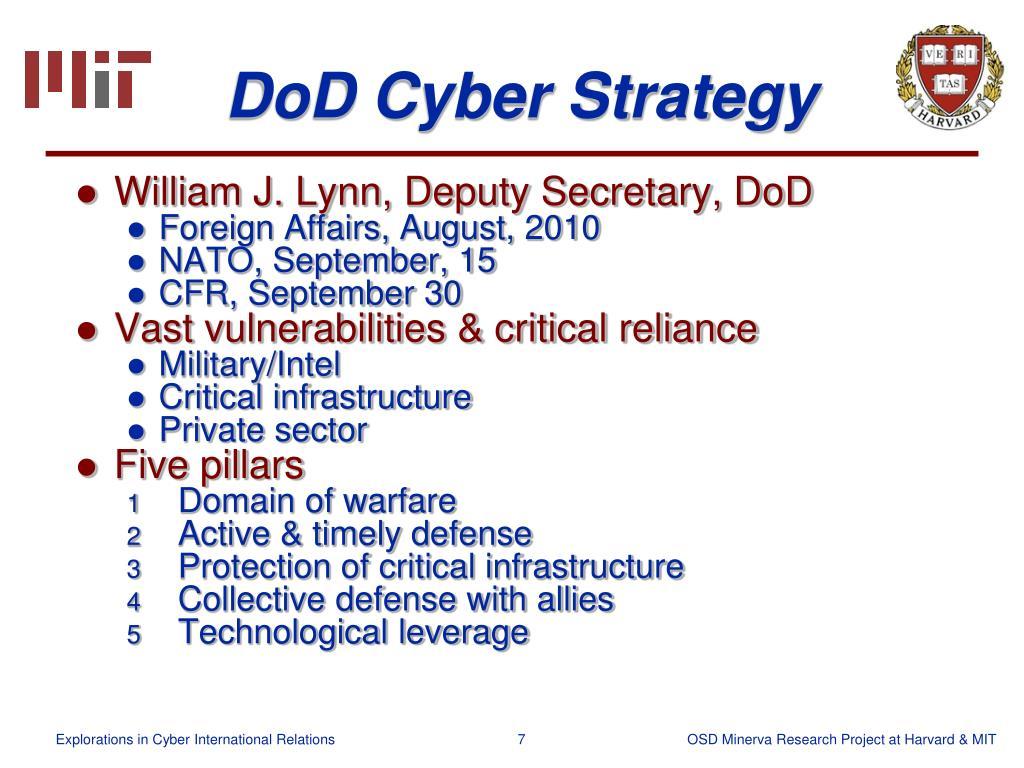 DoD Cyber Strategy