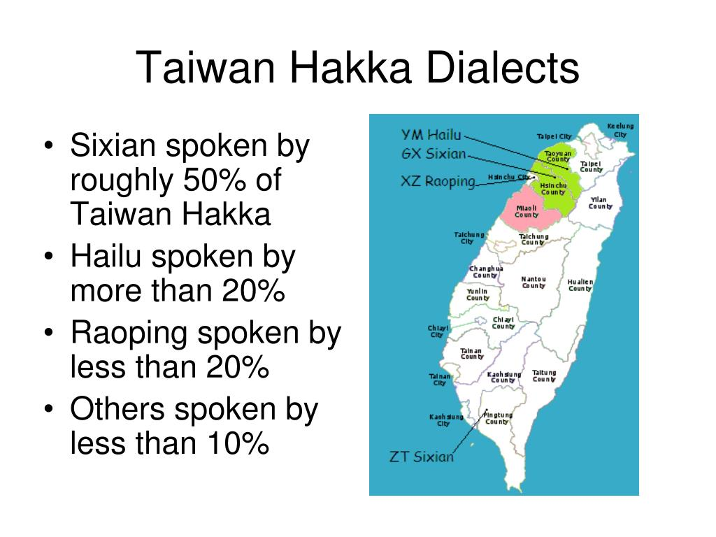 Taiwan Hakka Dialects