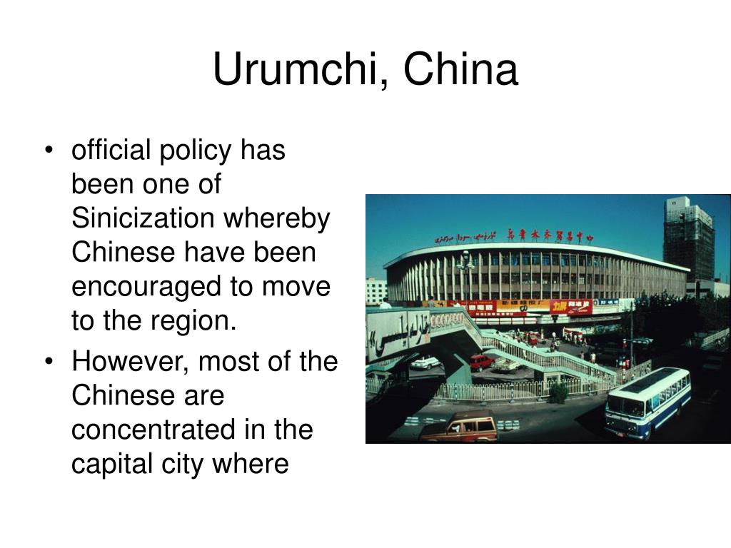 Urumchi, China