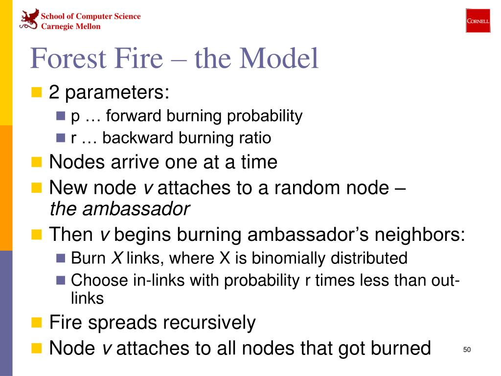 Forest Fire – the Model