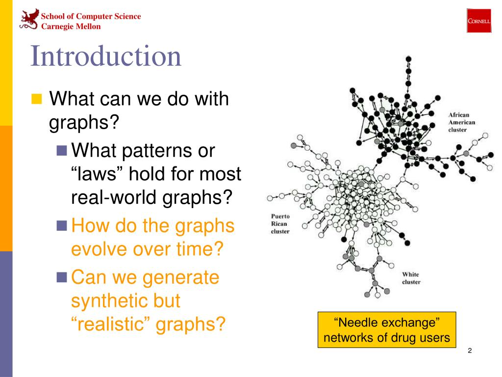 What can we do with graphs?