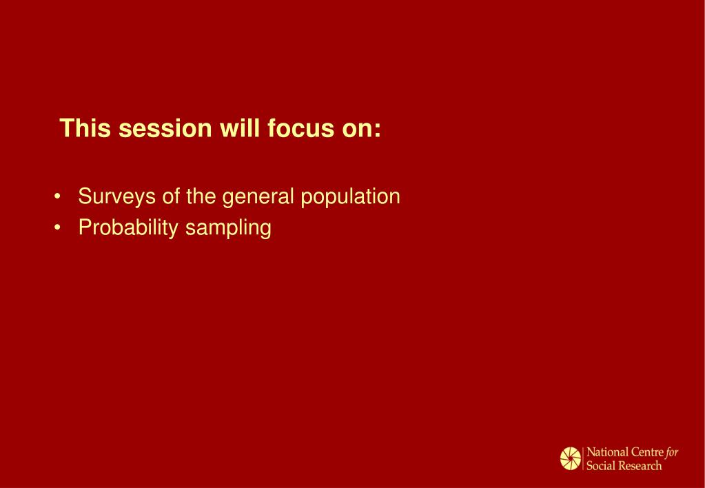 This session will focus on: