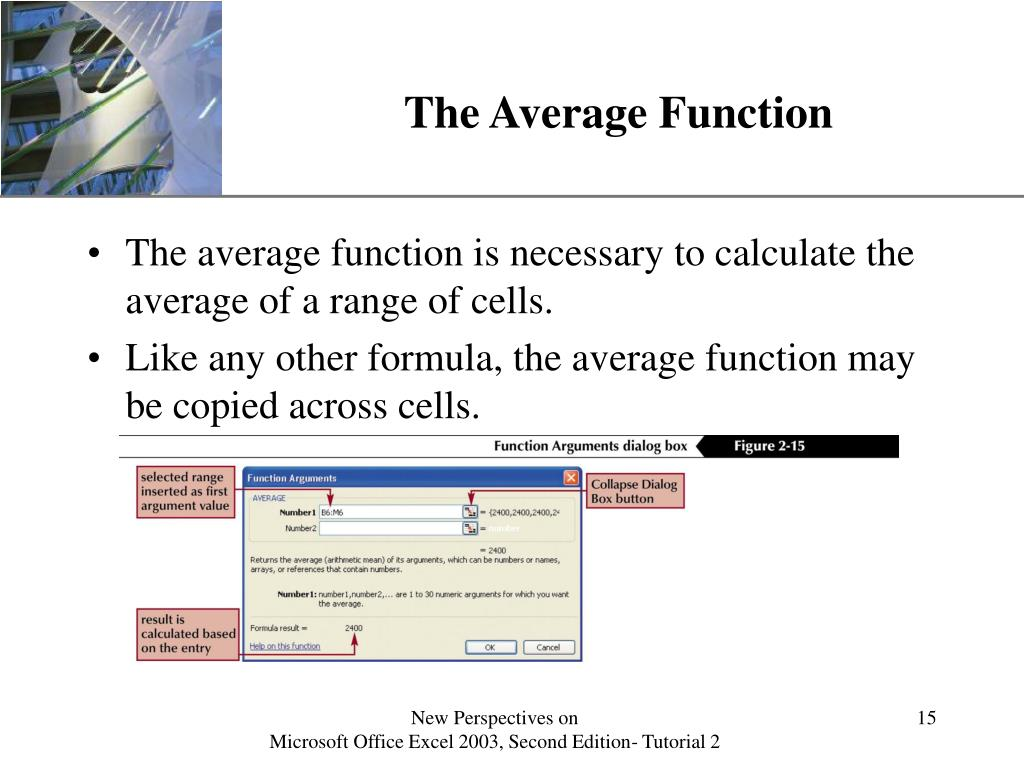 The Average Function