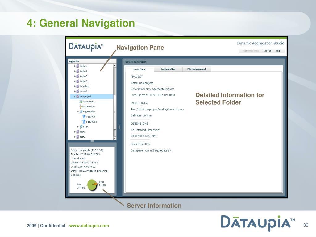 4: General Navigation