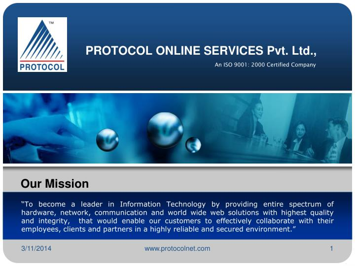 Protocol online services pvt ltd