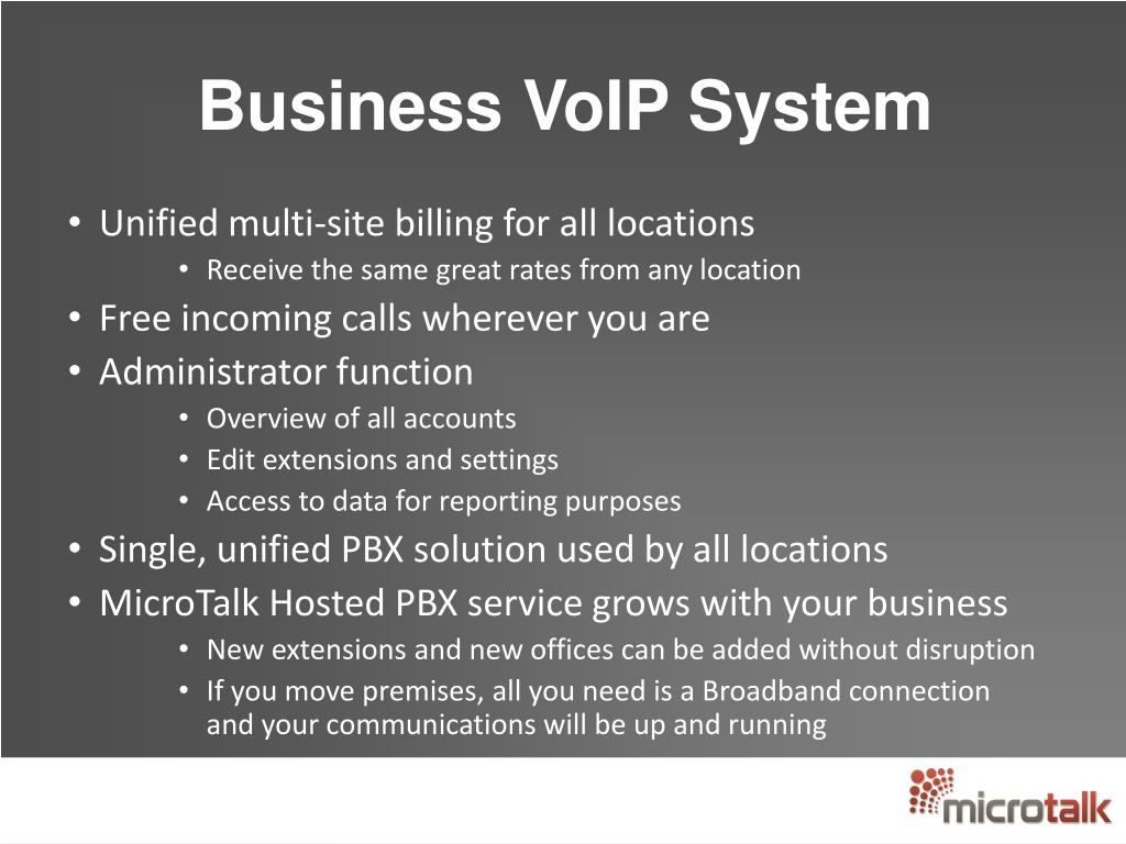 Business VoIP System