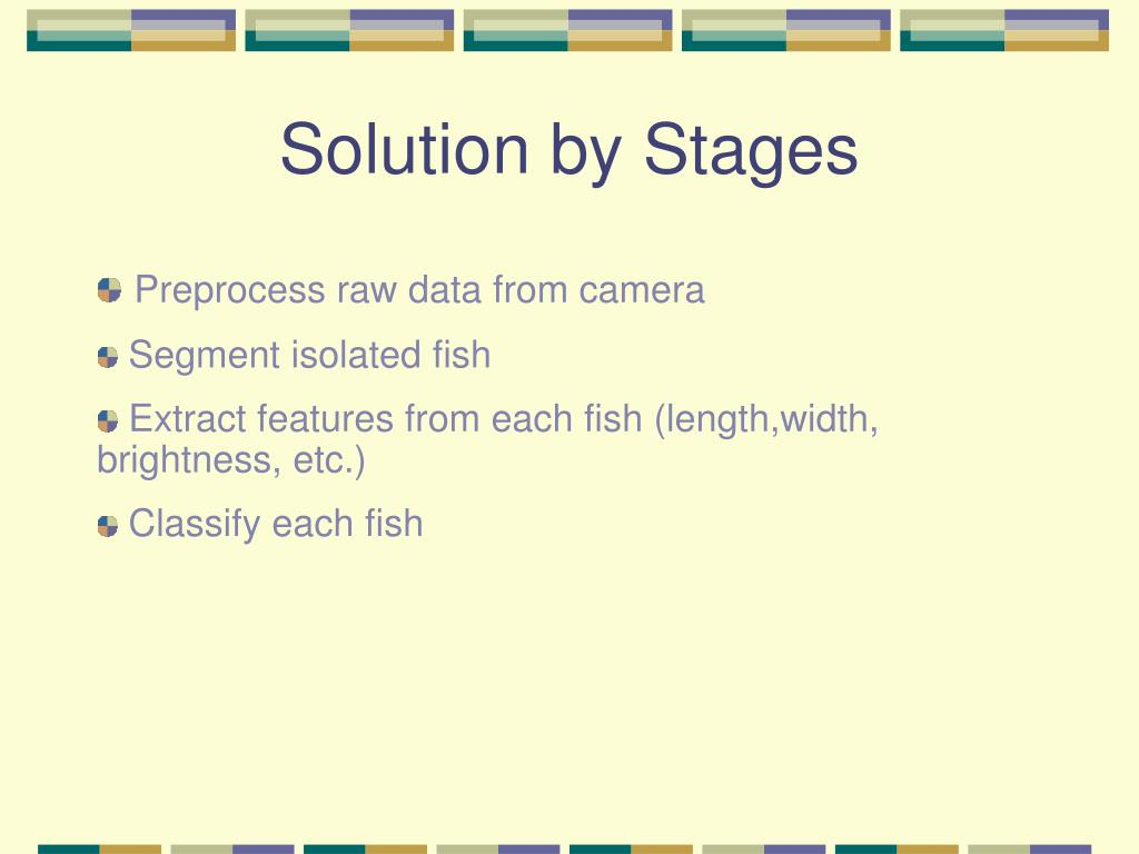 Solution by Stages