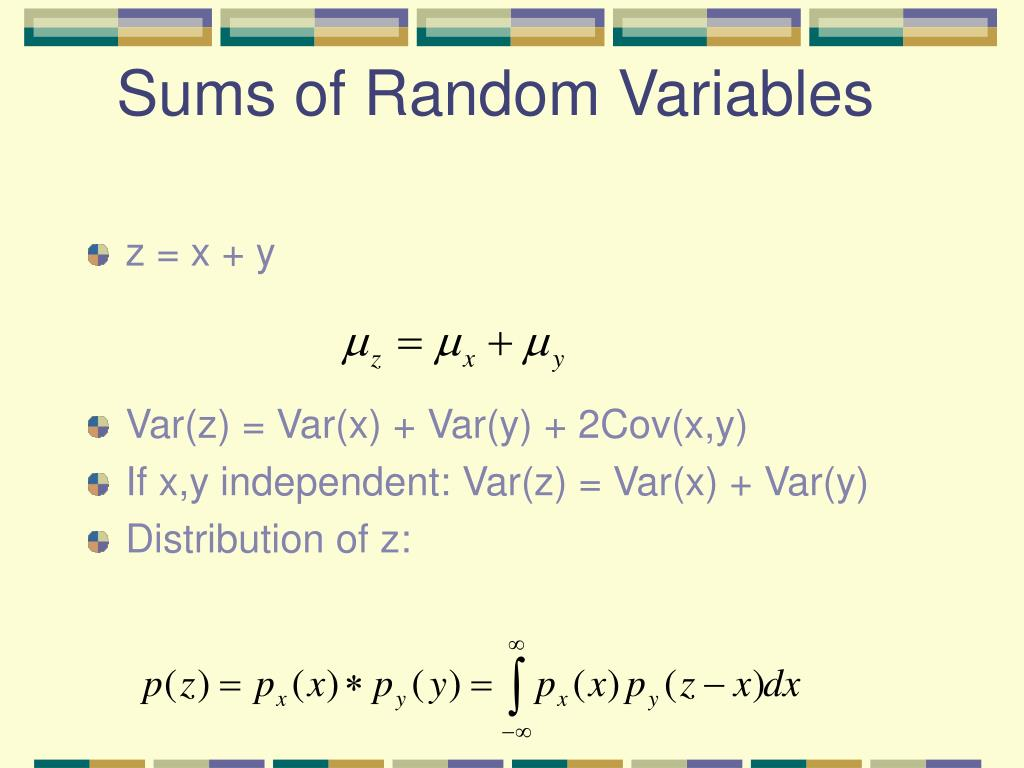 Sums of Random Variables