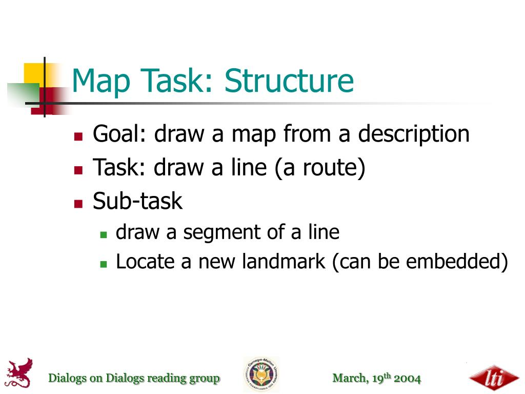 Map Task: Structure