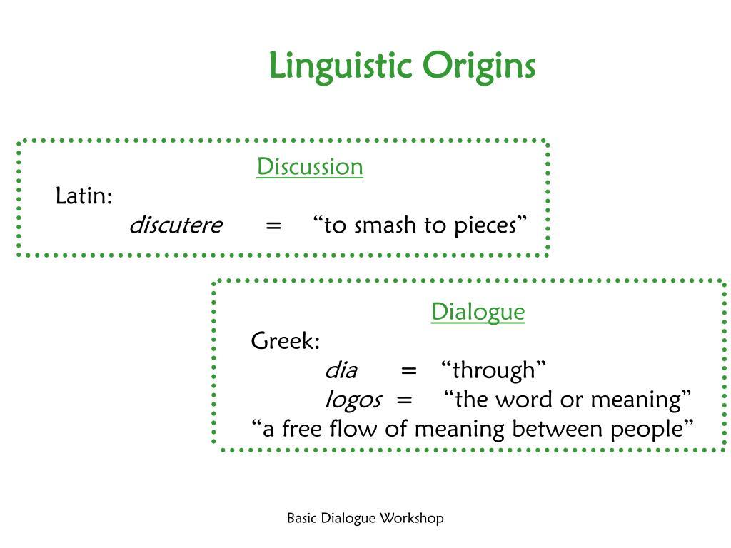 Linguistic Origins