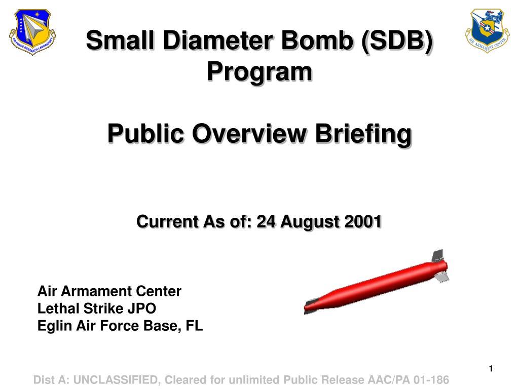 Small Diameter Bomb (SDB)