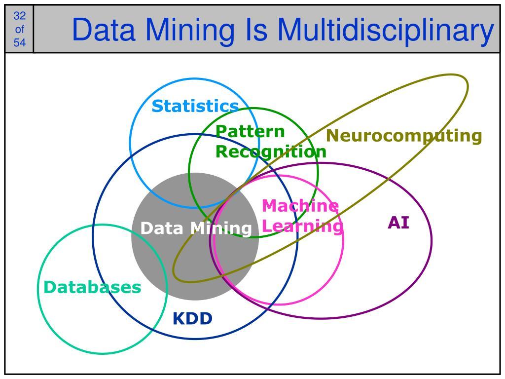 Data Mining Is Multidisciplinary