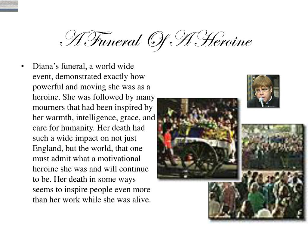 A Funeral Of A Heroine